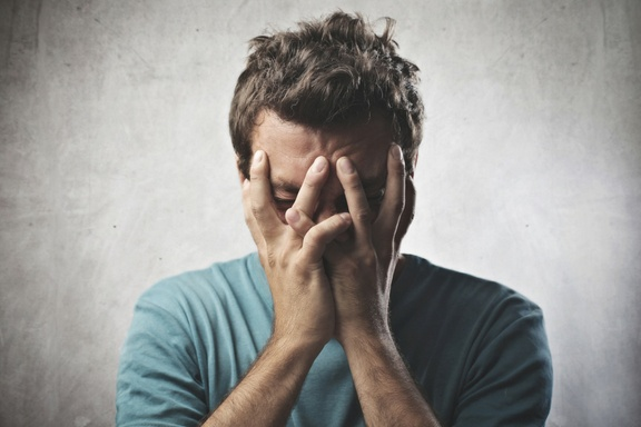 CRH is released in increased amounts in case of anxiety disorder